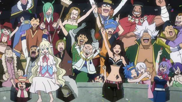 Fairy_Tail_celebrate_their_victory