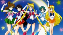 Sailor Moon-Monopoly: Winning Moves präsentiert Spielbrett